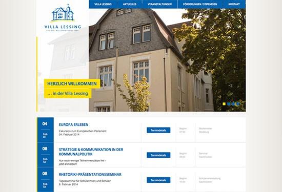 Webportal villa lessing